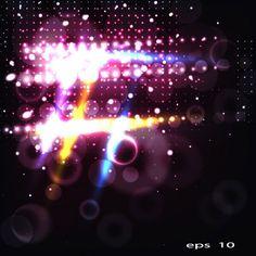 Luminous colors background vector