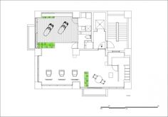 Hair Salon Design: Comfort and Relaxing Atmosphere : Master Floor Plan Of Intriguing Hair Salon Interior Design