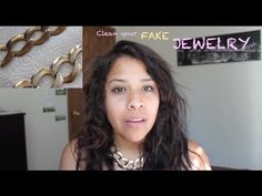 How to Clean Gold or Silver Jewelry ? FAKE GOLD/SILVER JEWELRY - YouTube