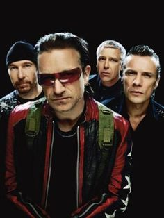 The brilliant band U2. I own a number of their albums. Definitely worth a listen!