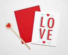 One of our 3 favorite Valentine's Day cards we've ever printed: from The Paper Cub.