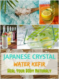 JAPANESE CRYSTAL ( WATER KEFIR ) …. HEAL YOUR BODY NATURALLY