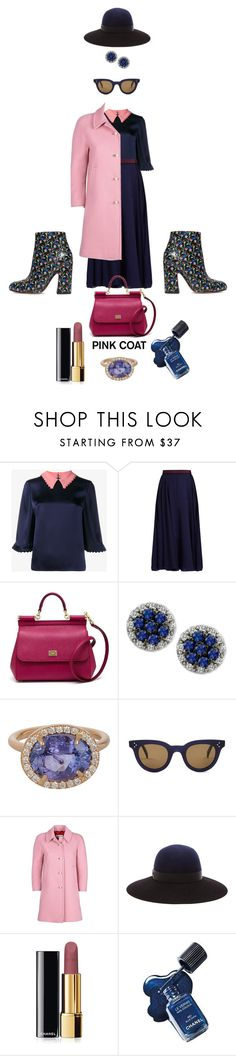 """""""Job Day 770"""" by minigiulia ❤ liked on Polyvore featuring Roksanda, Dolce&Gabbana, LE VIAN, Irene Neuwirth, CÉLINE, Gucci, Lanvin, Chanel and Marc Jacobs"""
