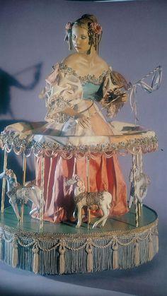 Nancy Wiley doll carousel theatre (please follow minkshmink on pinterest)