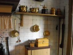 Museum Huis van Gijn, Dordrecht, keuken eigen foto