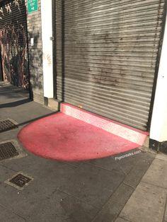 But, why East London??? #london #londonfields #hackney #eastlondon #art #tongue #street #big #strange #random #pigeontalks
