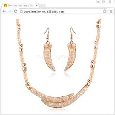 high end fashion jewelry necklace wholesale