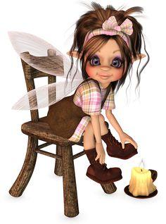 Fairy Poser Tubes | Geplaatst door Nanda op 08:26