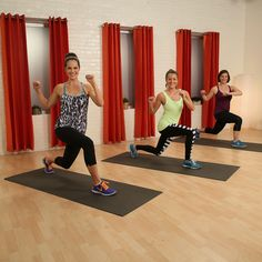 10-minute burn and shred workout of all bodyweight exercises and some fun plyo moves.