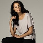 Fluted Sleeve T-Shirt | The White Company