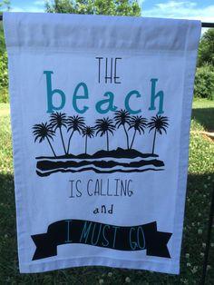 Beach Garden Flag