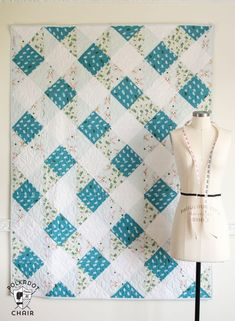Sewing Quilts Gingham Daydream Quilt Pattern by Melissa Mortenson - Easy quilt patterns and tutorials to get you started as a new quilter. Learn how to make a quilt. Free beginner quilt patterns and tutorials. Quilt Baby, Baby Quilt Patterns, Patchwork Patterns, Sewing Patterns, Quilting Patterns, Quilting Ideas, Beginner Quilt Patterns Free, Patchwork Ideas, Modern Quilt Patterns