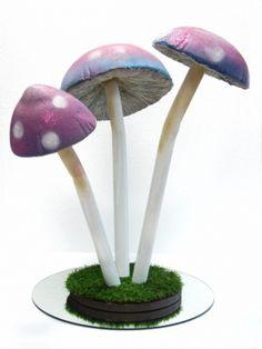 Toadstool Mushroom Table Centerpiece
