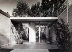 Don Knorr architect - Entrance