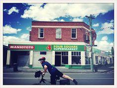 Four Square supermarket, NZ Kiwiana, Homeland, Four Square, New Zealand, History, Art, Art Background, Historia, Kunst