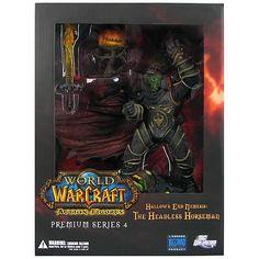 World of Warcraft Premium Series 4 Hallow's End Nemesis The Headless Horseman Action Figure