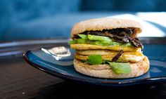 This Vegan Breakfast Sandwich Is Inspired by an Egg McMuffin
