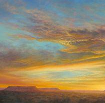 Mesa Sunset Aurora-Cropped by Lauren Knode Oil ~ x
