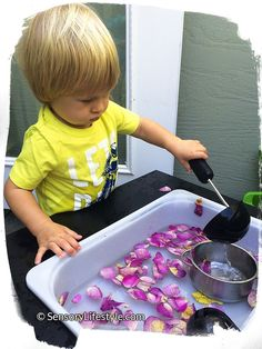 Sensory activities for 18 months