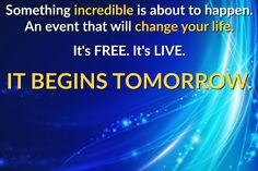 EVENT STARTS TOMORROW…, Sign up NOW! The Truth About Cancer – Ultimate Live Symposium is a once-in-a-lifetime event…and you can be part of it! Watch it LIVE and FREE.