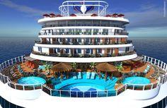 Carnival cruise ship havana pool (Vista, Horizon)