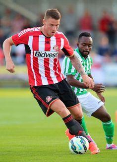 Connor Wickham of Sunderland during a preseason friendly match...