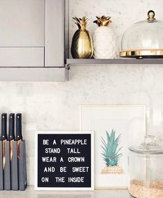 Pastels, Gold & White in the kitchen | Kitchen | Pinterest | White ...