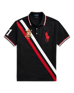 Shop men's polo shirts and find everything from performance polos to classic polo shirts. Camisa Polo, Polo T Shirts, Golf Shirts, Polo T Shirt Design, Long Shorts, Shirt Designs, Polo Ralph Lauren, Mens Tops, Mesh