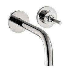 Axor Uno Wall Mounted Single Handle Chrome Faucet
