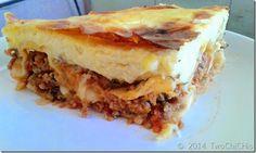 Κανελόνια με κιμά και μπεσαμέλ. For further informαtion aboyt the recipe visit my personal blog.  Για επιπλέον πληροφορίες σχετικά με την ΣΥΝΤΑΓΉ επισκεφθείτε το προσωπικό μου ιστολόγιο