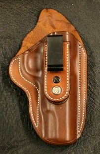 Tuckable leather holster