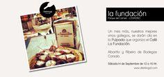 Bar La Fundación #Logroño #LaRioja - Bodegas Carsalo #Ribeiro #Albariño
