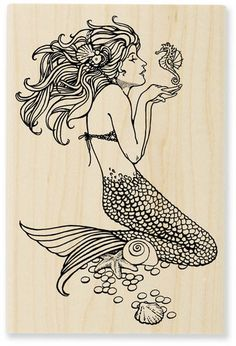 slykicks:    I want this to be my next tattoo. I've always loved mermaids.