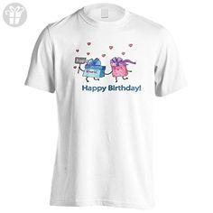 New Happy Birthday Funny Gift Men's T-Shirt Tee i458m - Birthday shirts (*Amazon Partner-Link)