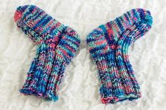 Newborn Baby Socks | Craftsy
