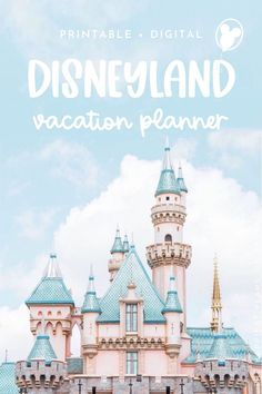 Need help planning your Disneyland trip? 📝 Shop our Disney Vacation Planners that include 50+ printable templates that plan everything from your Disney Parks Itinerary, Dining Reservations, Character Meetings & more! Also included are Disneyland Guides with information about both theme parks, Downtown Disney & the Hotels. All Disney Planners are Printable & Digital. Start your Disney Trip Planning now & purchase your very own Disneyland Planner. #disneyplanning