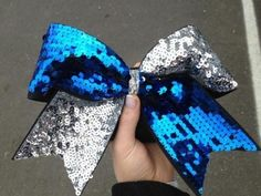 Cheerleading Glitter Bow