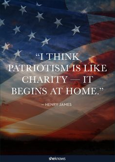 What does true patriotism mean to you??