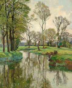 John Anthony Park:  Spring on the Stour