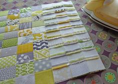 ingenious way of sewing a large grid of squares by oh, fransson