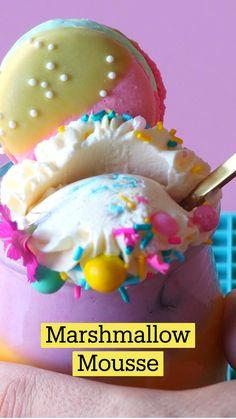 Fun Baking Recipes, Sweet Recipes, Dessert Recipes, Cooking Recipes, Kid Recipes, Cute Desserts, Birthday Desserts, Comida Diy, Almond Recipes