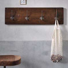 15 Cast Iron Rustic U-Shape Hooks Coat Hat Sweater Towel Bathroom Kitchen Cups