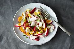 Radish Salad with Curry-Orange Dressing on Food52