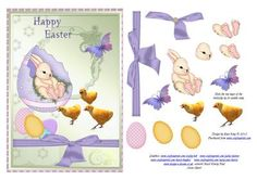 Happy Easter on Craftsuprint - Add To Basket!