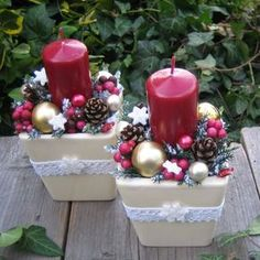 Victorian Christmas Decorations, Christmas Swags, Christmas Tablescapes, Christmas Table Decorations, Decoration Table, Beaded Christmas Ornaments, Christmas Planters, Christmas Gift Baskets, Christmas Candles