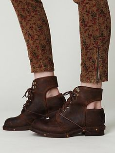 cut-out boots