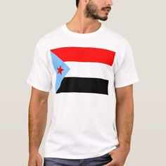Shop South Yemen Flag T-Shirt created by Vexillophile. South Sudan Flag, South Yemen, Yemen Flag, North Carolina State Flag, Shirt Template, Tshirt Colors, Flags, Colorful Shirts, Kids Outfits