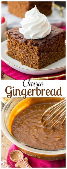 A Classic Gingerbread Recipe! #gingerbread #recipe #classicrecipe via @sugarspunrun