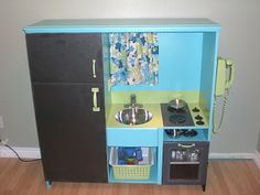 old entertainment center