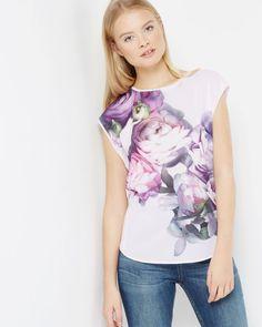 b341b16ee1d Sunlit Floral T-shirt Luxury Dress